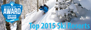 Top 2015 Ski Resorts