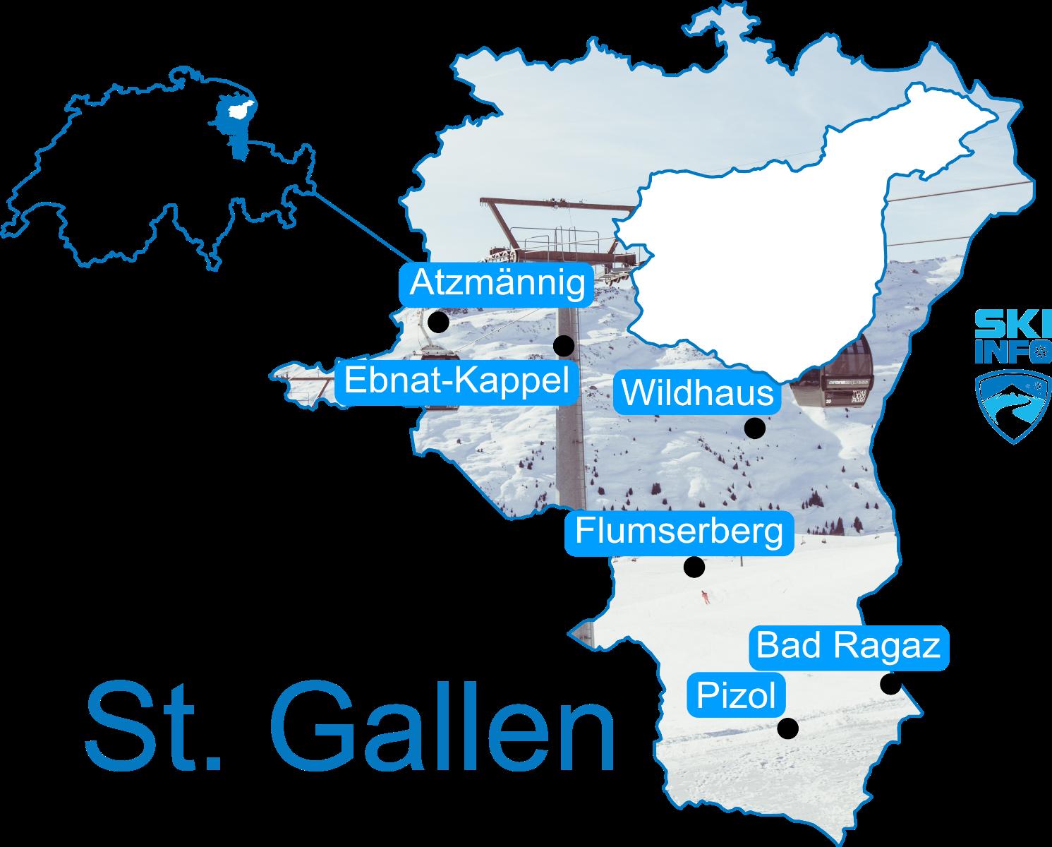 Karte St. Gallen