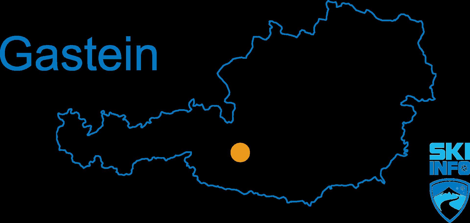 Karte Gasteinertal