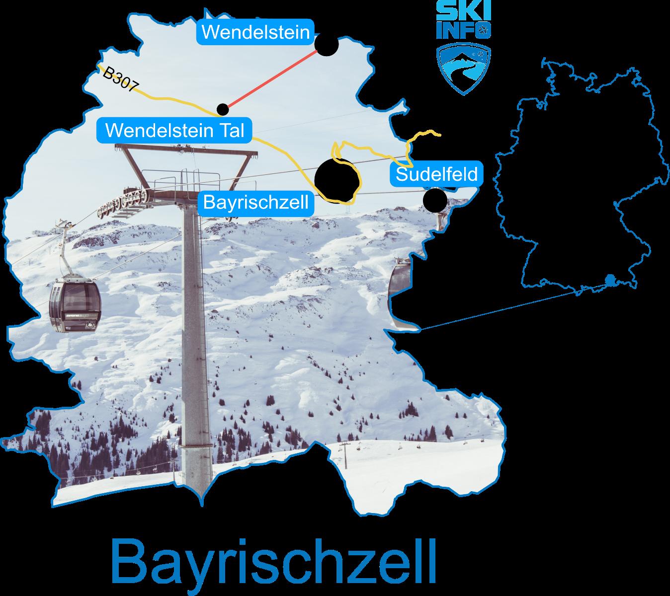 Karte Bayrischzell