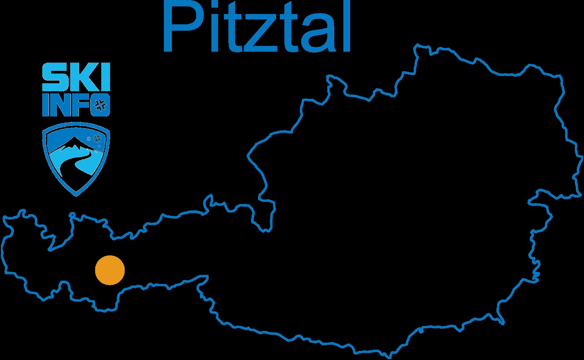 Karte Pitztal