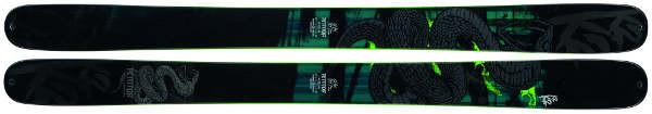 Ski de freeride - K2 Shreditor120