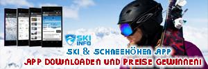 Skiinfo Ski &  Schneehöhen App
